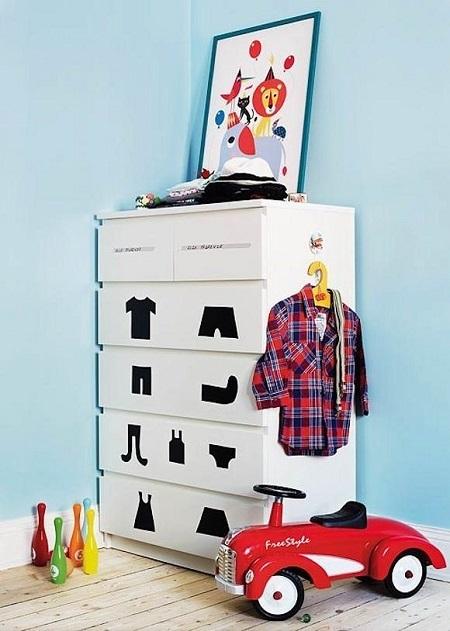 decorar con vinilo muebles 3